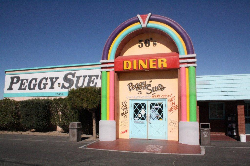 Etape Peggy Sue's Diner